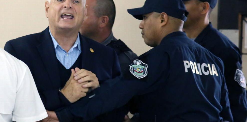 Martinelli regresa al centro penitenciario 'El Renacer'