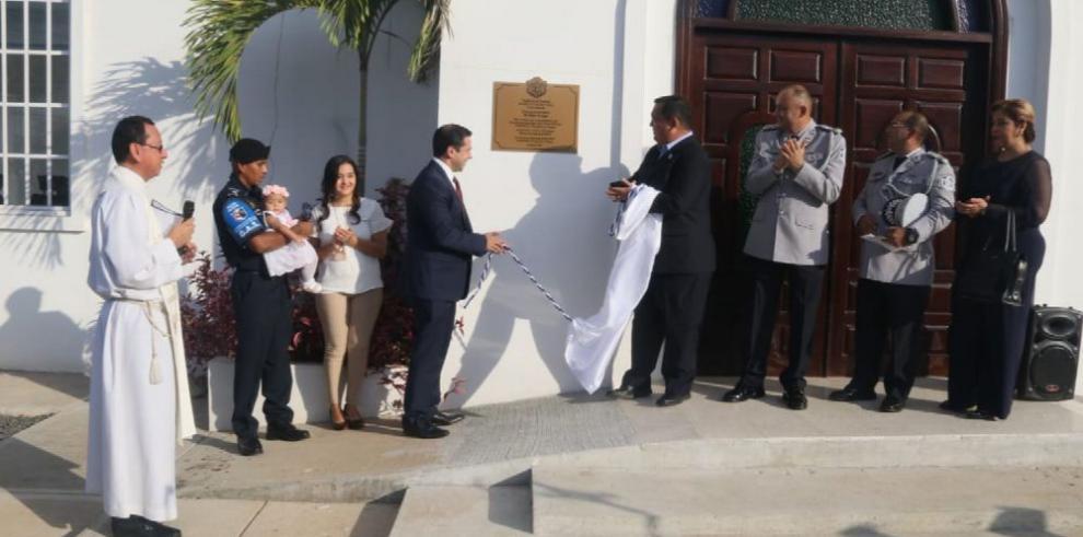 Policía Nacional inaugura capilla de $495 mil