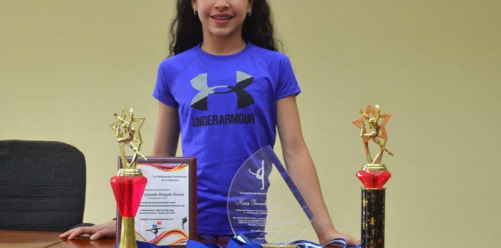 'Puky' Delgado se enfoca en seguir creciendo como gimnasta