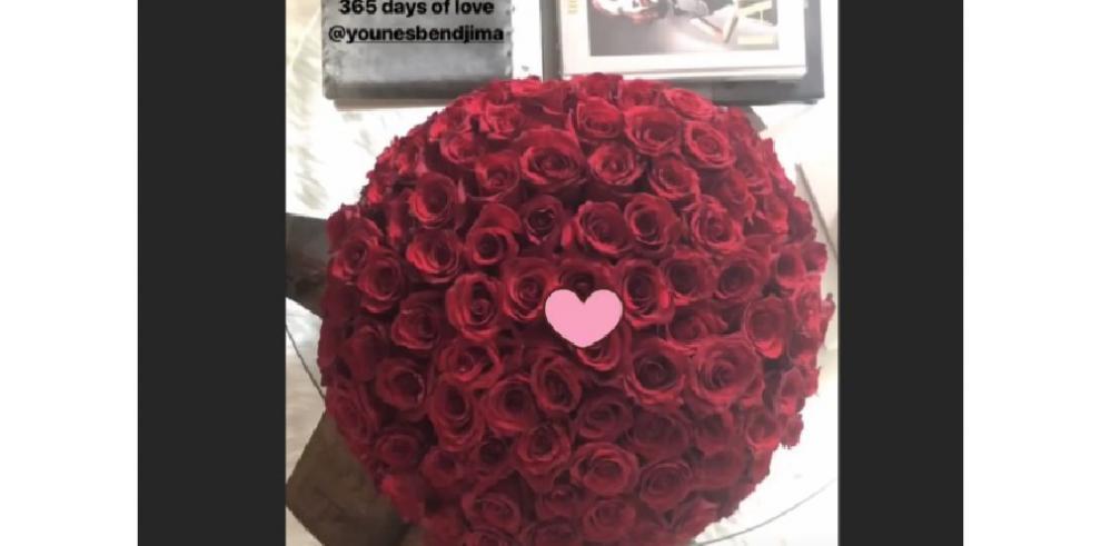 Kourtney Kardashian celebra su primer aniversario con Younes Bendjima