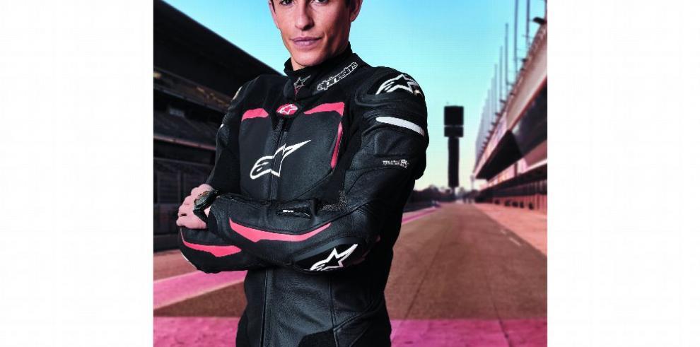 Marc Márquez, de piloto de motociclismo a modelo