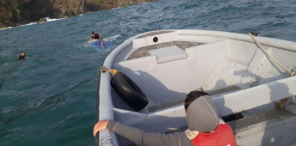 Dos muertos en naufragio de lancha con migrantes ilegales en Guna Yala