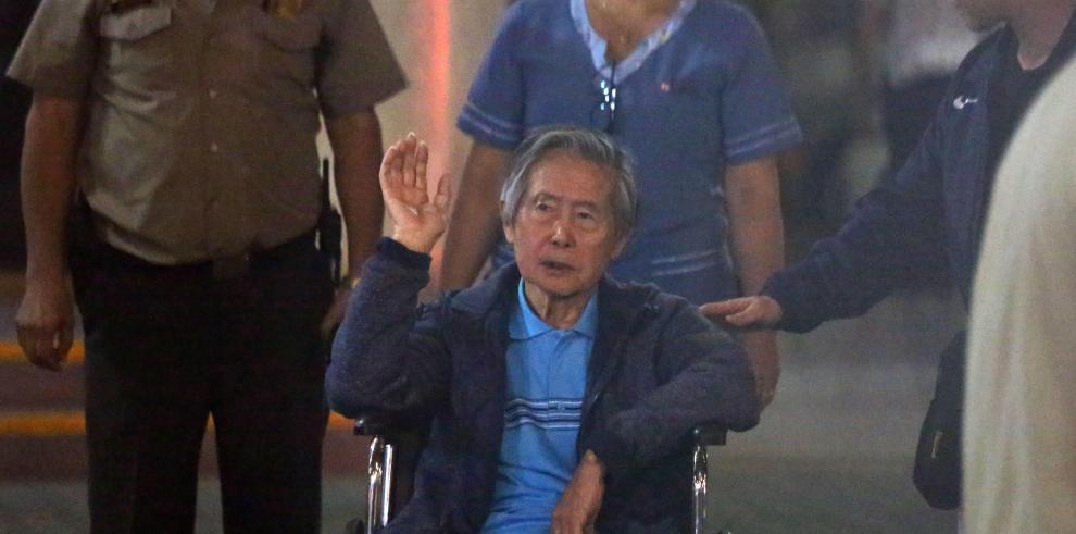 El Gobierno de Perú impugna el fallo que ordena juzgar a Fujimori por matanza