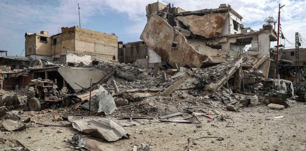 Mueren 106 personas por ataques contra feudo opositor en las afueras de Damasco