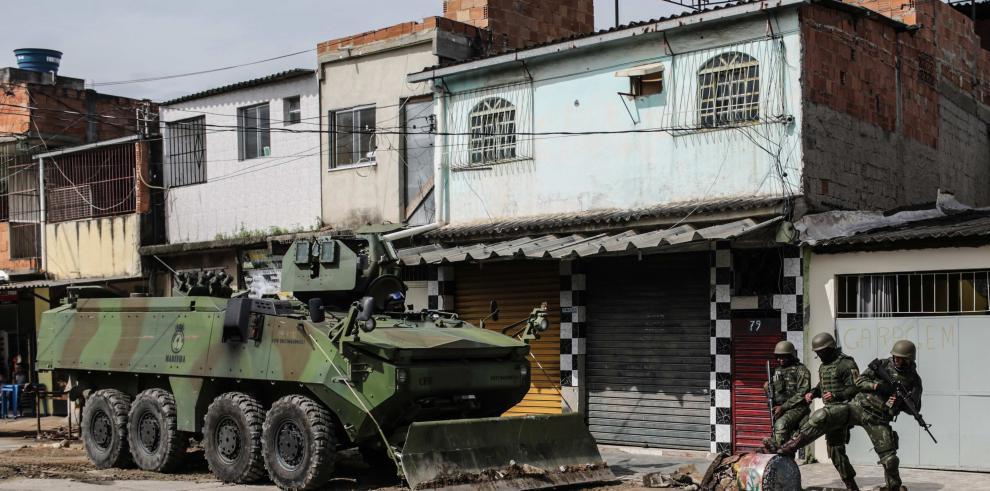 Un sargento, primer militar asesinado en Río tras intervención federal