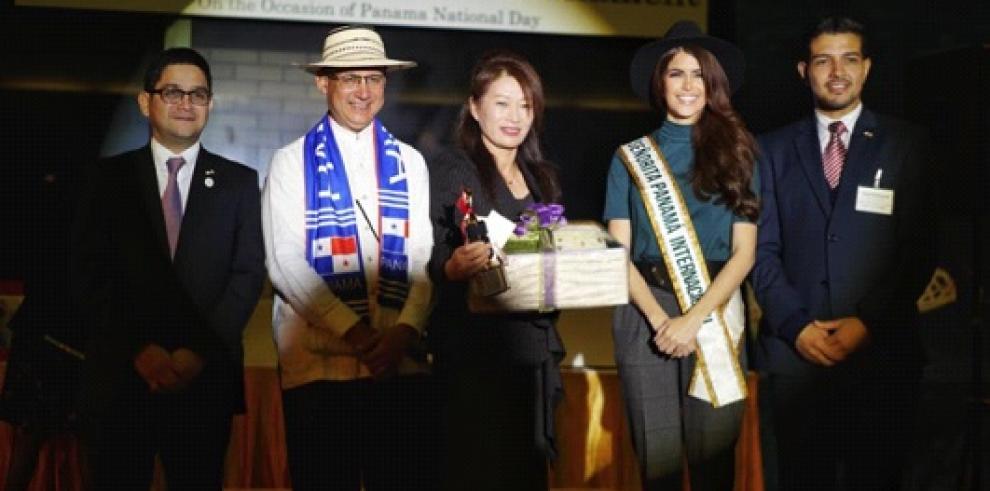 Celebran fiestas patrias de Panamá en Japón