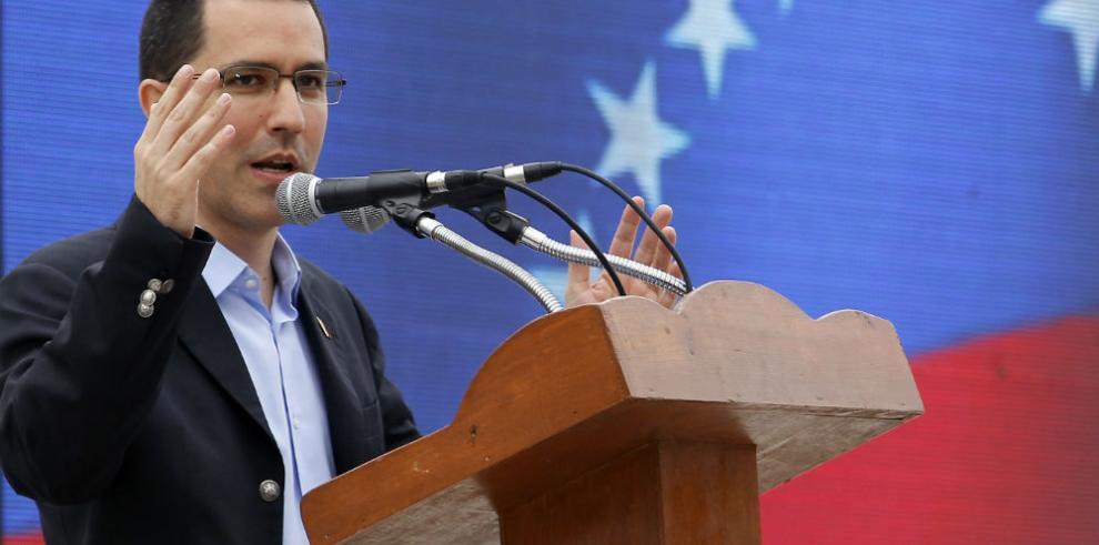 El canciller de Venezuela se reúne con presidente de parlamento de Nicaragua
