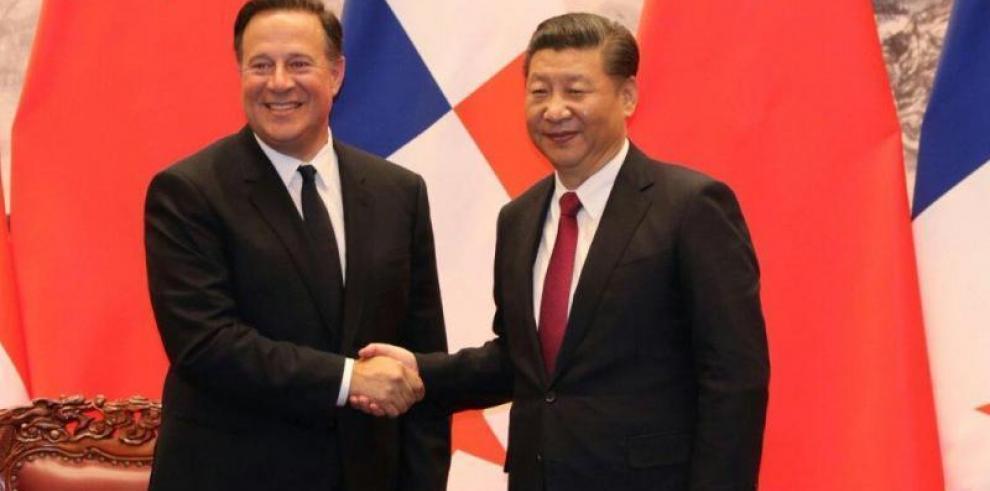 Xi entregará a Varela un estudio sobre tren que unirá frontera con Costa Rica