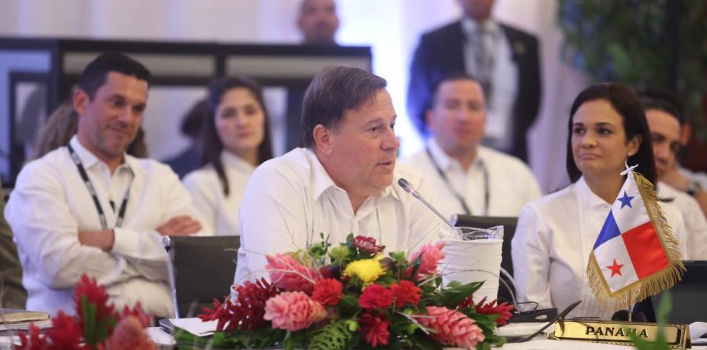 Varela reitera coordinación para enfrentar retos en Centroamérica