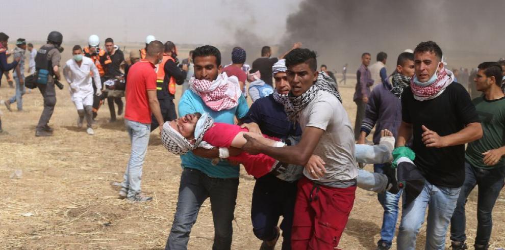 Jornada de sangre en Gaza