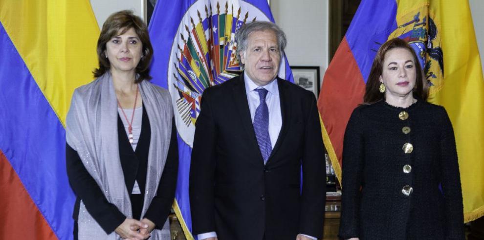 Bogotá y Quito piden apoyo en la OEA ante crisis fronteriza