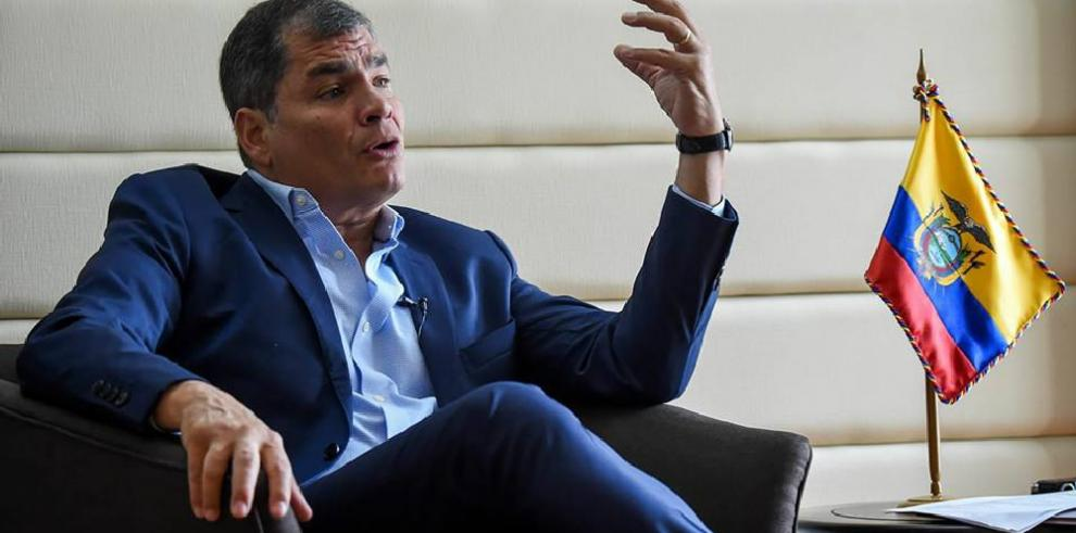 Correa teme por su libertad tras encarcelamientos como los de Glas y Lula