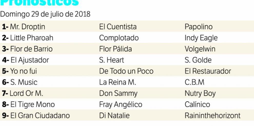 Seis estelaristas criollos miden fuerzas hoy