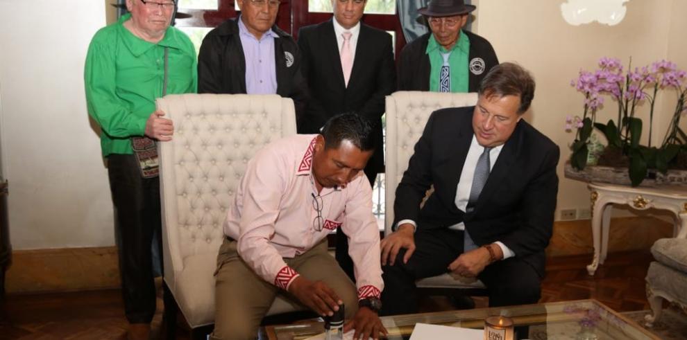 Autoridades Gunas avalan interconexión eléctrica entre Panamá y Colombia