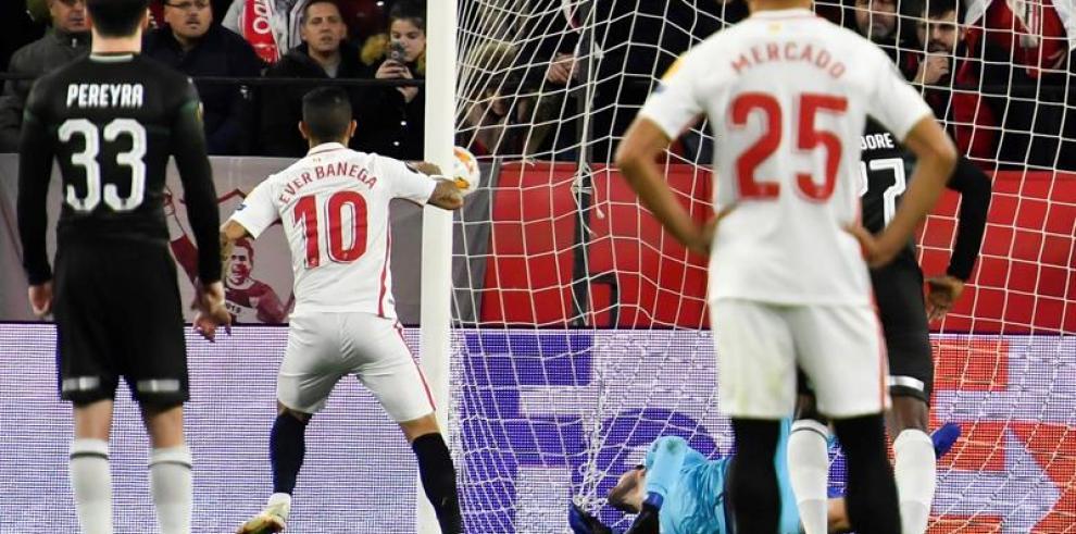 Sevilla pasa como líder con doblete de Ben Yedder y Krasnodar es segundo