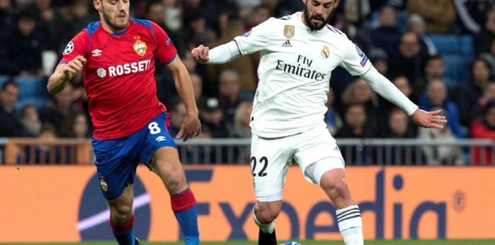 Humillado el Real Madrid en el Bernabéu
