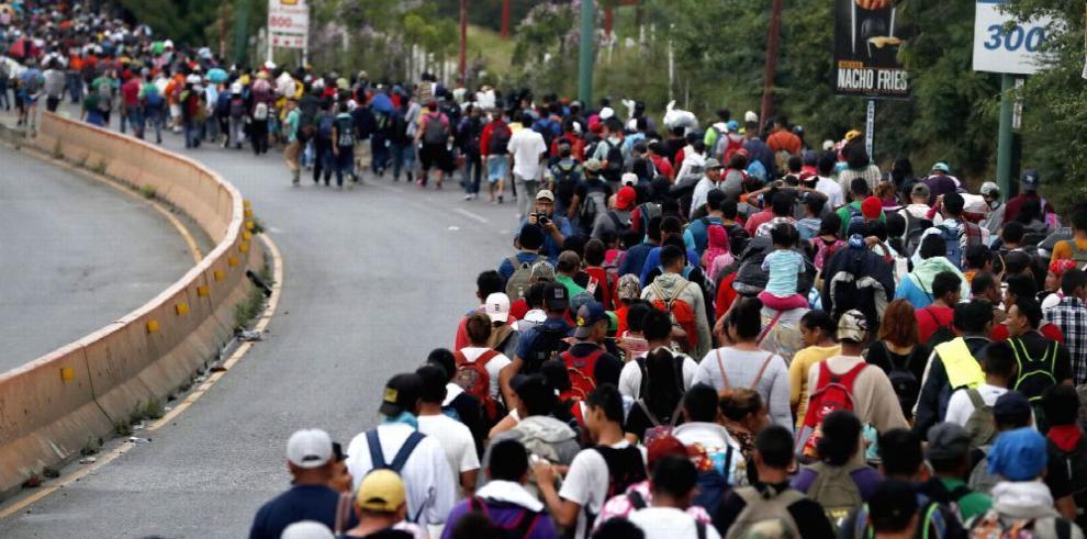 Honduras: Caravana de migrantes tiene 'fines políticos'