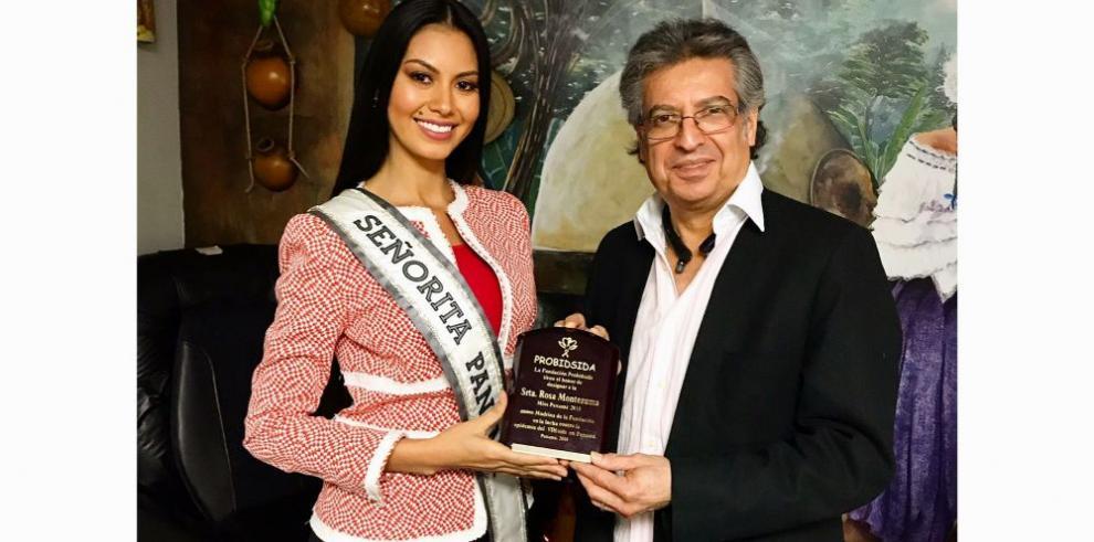 Rosa Montezuma es designada embajadora de la lucha contra el VIH