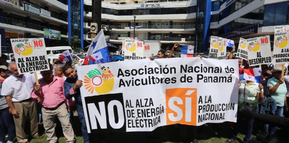 Más organizaciones se suman en rechazo del alza de la tarifa eléctrica