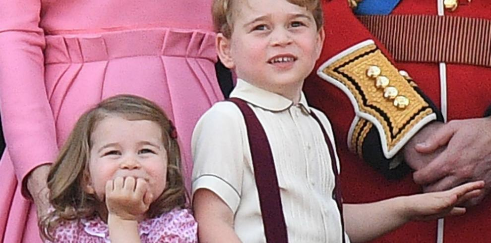 La princesa Carlota celebra su tercer cumpleaños