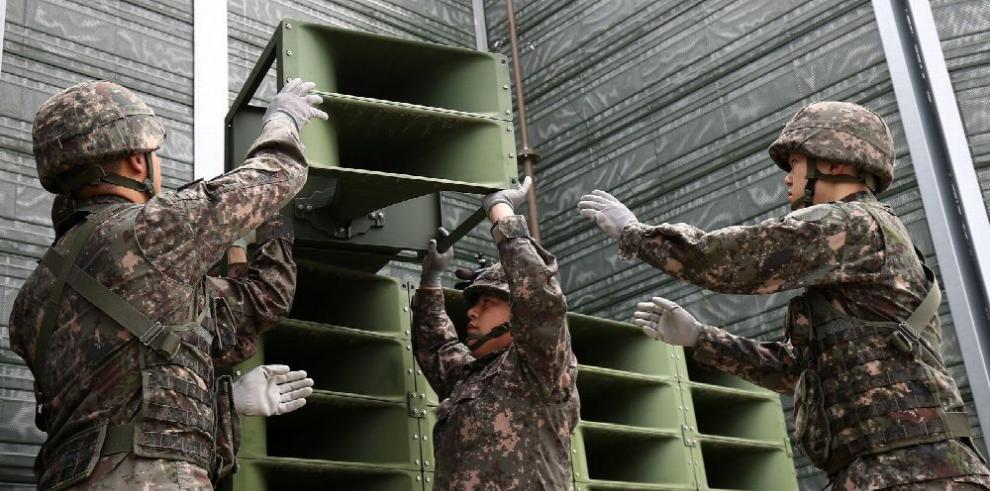 Avanza distensión entre las dos Coreas