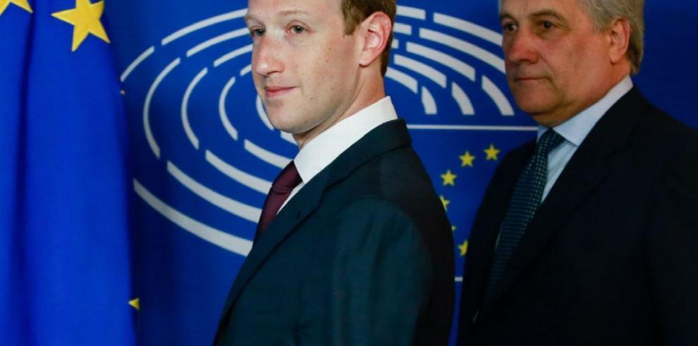 Zuckerberg da explicaciones ante audiencia de la UE