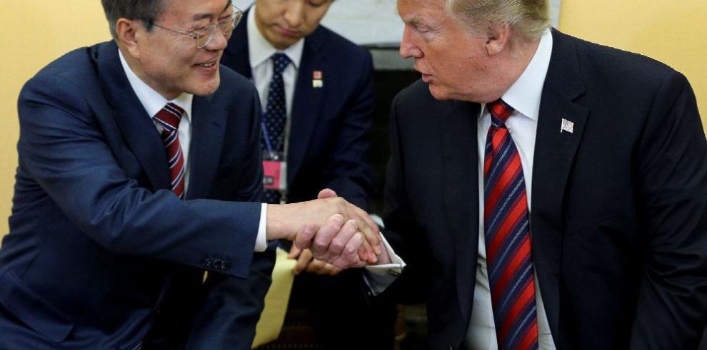 Trump podría atrasar reunión con Kim