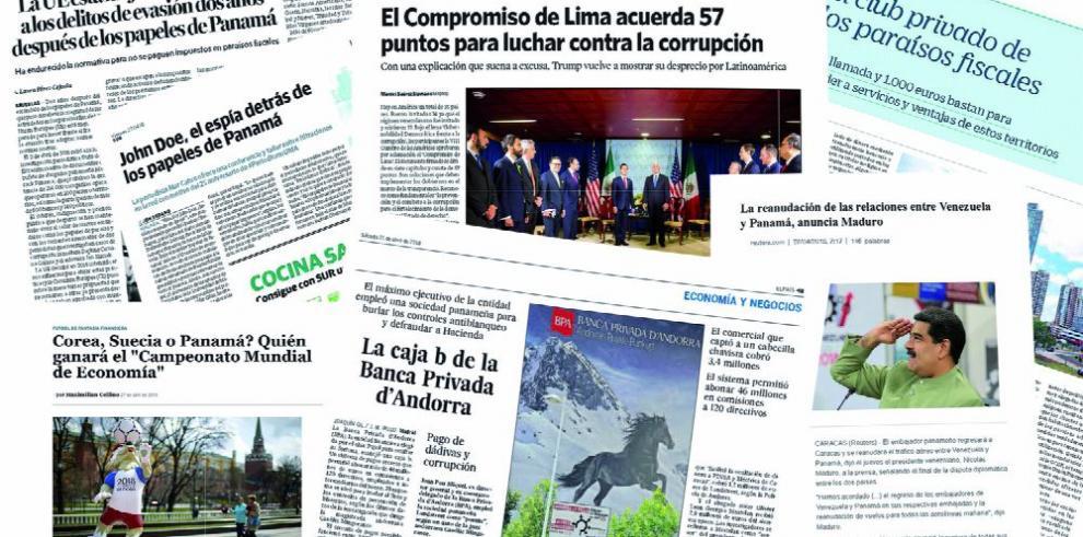 Venezuela y Panamá marcan la agenda latina en Europa