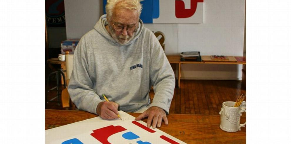 Robert Indiana, el hombre que transformó el amor en arte