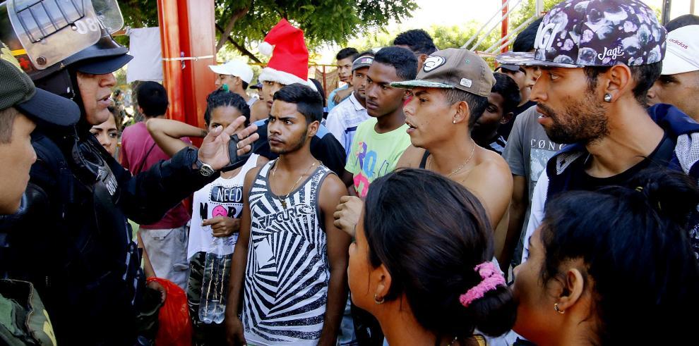 Protestan en ciudad colombiana de Cúcuta por llegada de 900 venezolanos