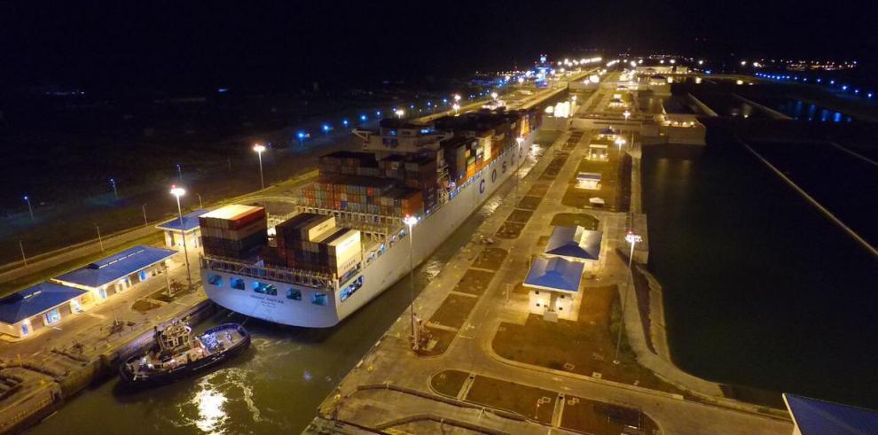 Canal ampliado alcanza el tránsito 2,000 de otro gigante neopanamax