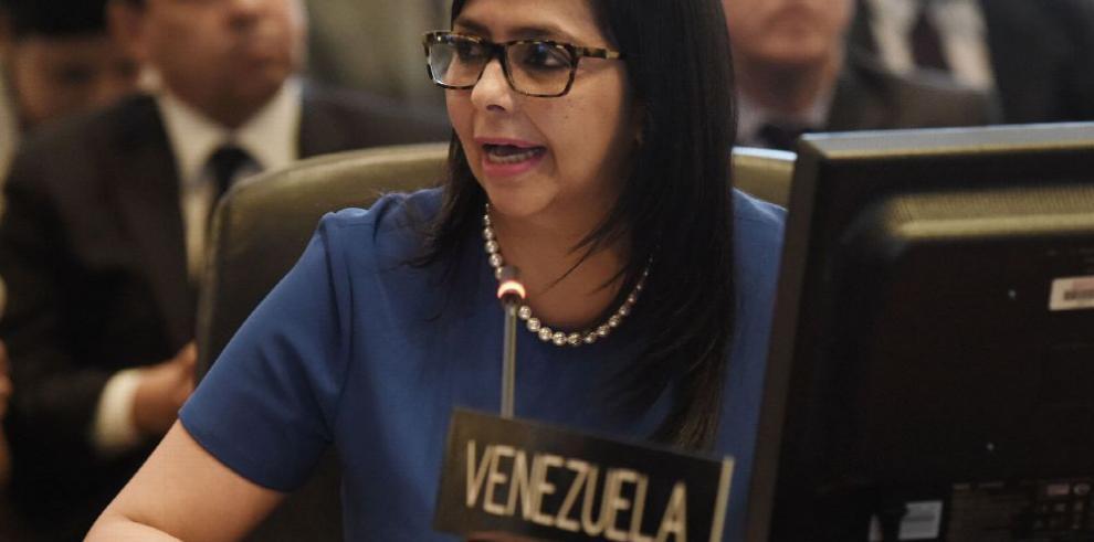 Resolución de la OEA es un 'fraude', afirma Venezuela
