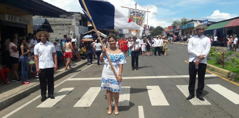 Desde Veraguas celebran 'el grito de las mujeres sonaeñas'