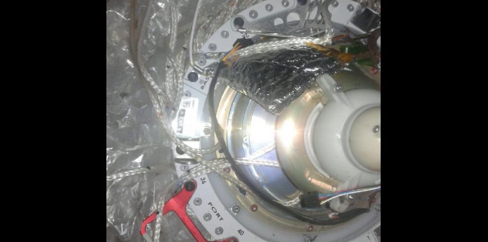 Sinaproc recupera satélite de Google que cayó en Bocas del Toro