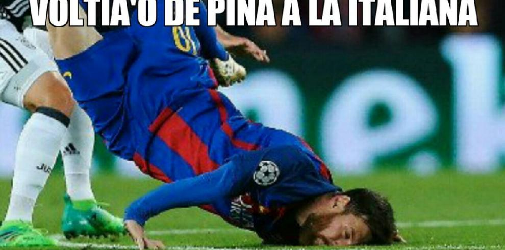 Los mejores Memes de la eliminación del Barcelona ante la Juve
