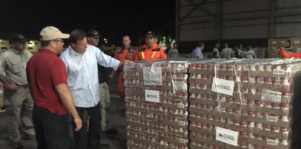 Panamá trasladará hoy ayuda humanitaria aCuba y otras islas del Caribe
