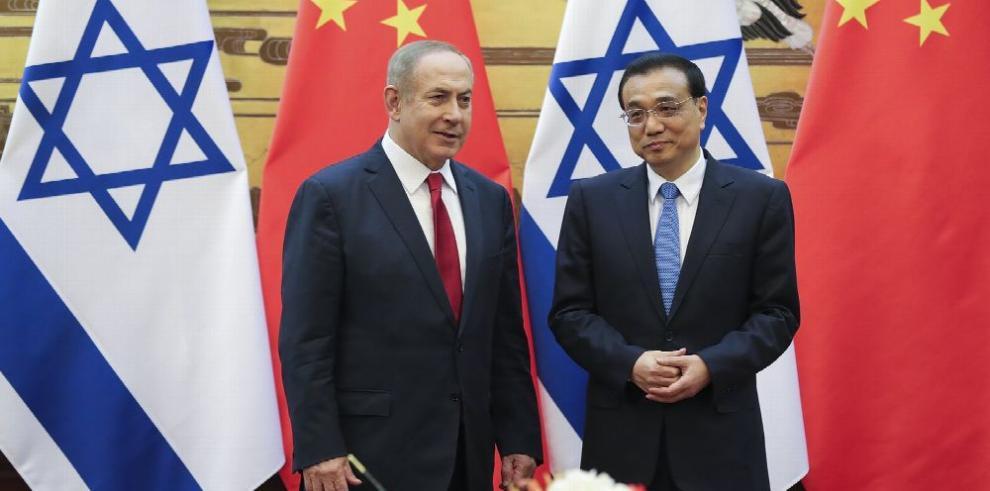 Netanyahu inicia visita de Estado a China