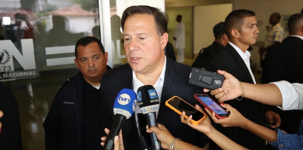 Varela hablará con Trump el tema de seguridad y no de Martinelli