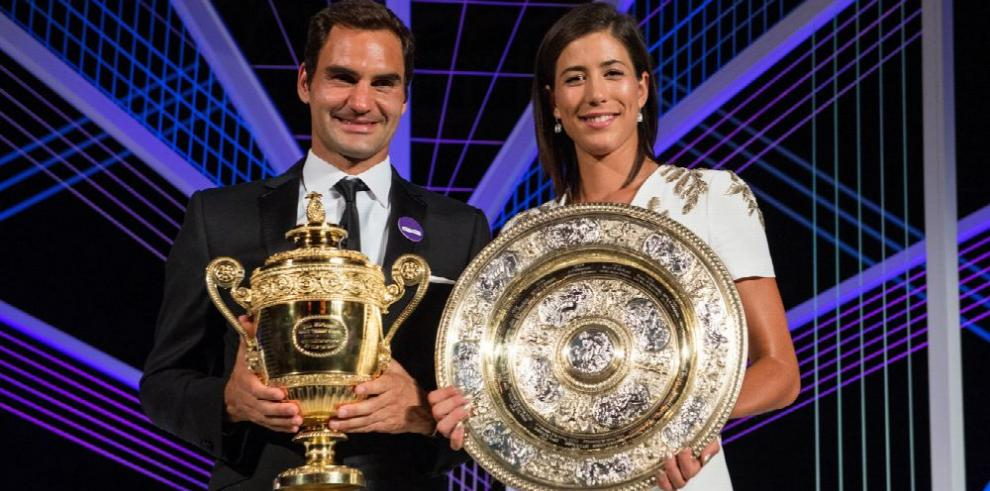 Federer se consolida y Muguruza es quinta en la clasificación