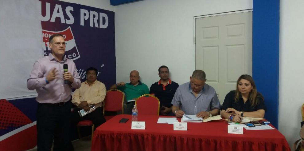 El PRD continúa con la jornada de discusión de la propuesta de reforma del estatuto
