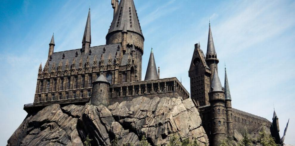 El castillo de Hogwarts cobra vida en Hollywood