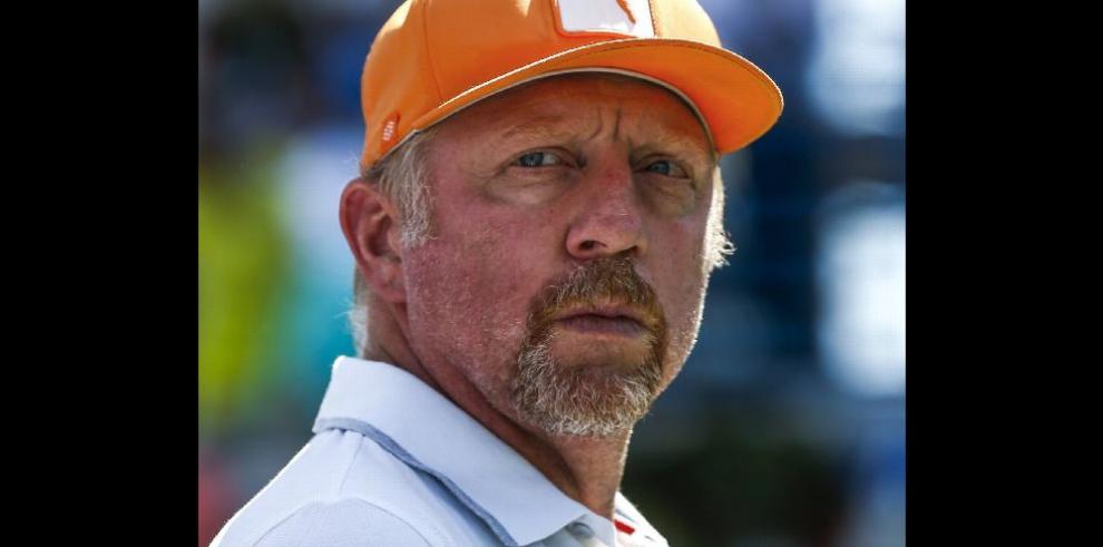 Declaran en bancarrota al ex-tenista Boris Becker