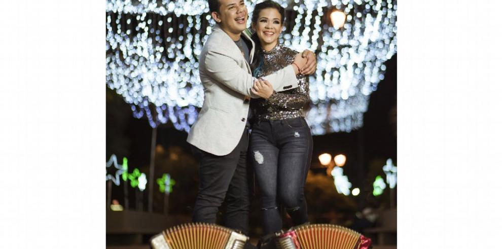 Kenny y Kiara Pérez promocionan a Panamá
