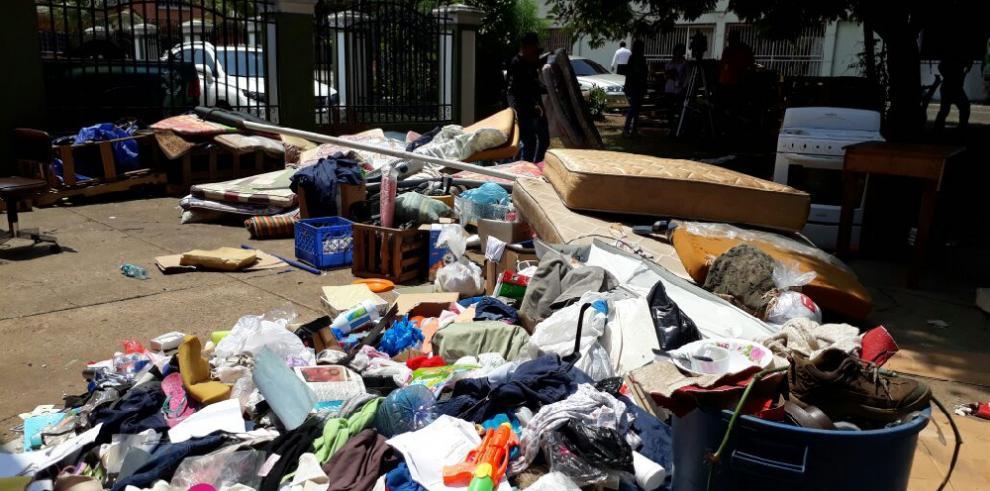 Se inicia traslado de cubanos de Cáritas a un albergue en Chiriquí