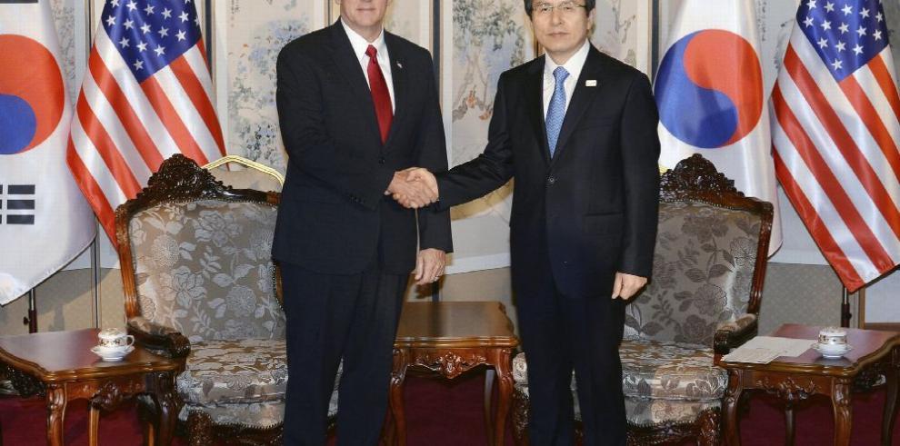 Pence: La paciencia de EE.UU. con Corea del Norte se acabó