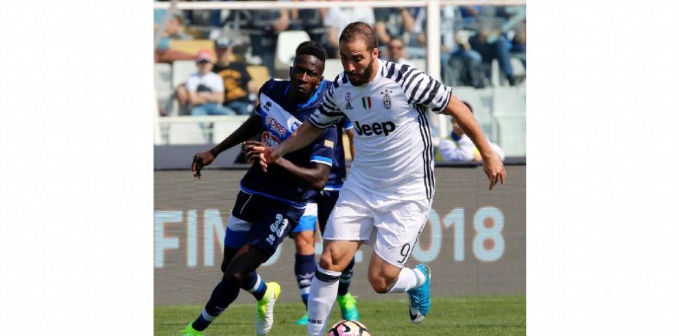 Juventus, nunca ha permitido remontada