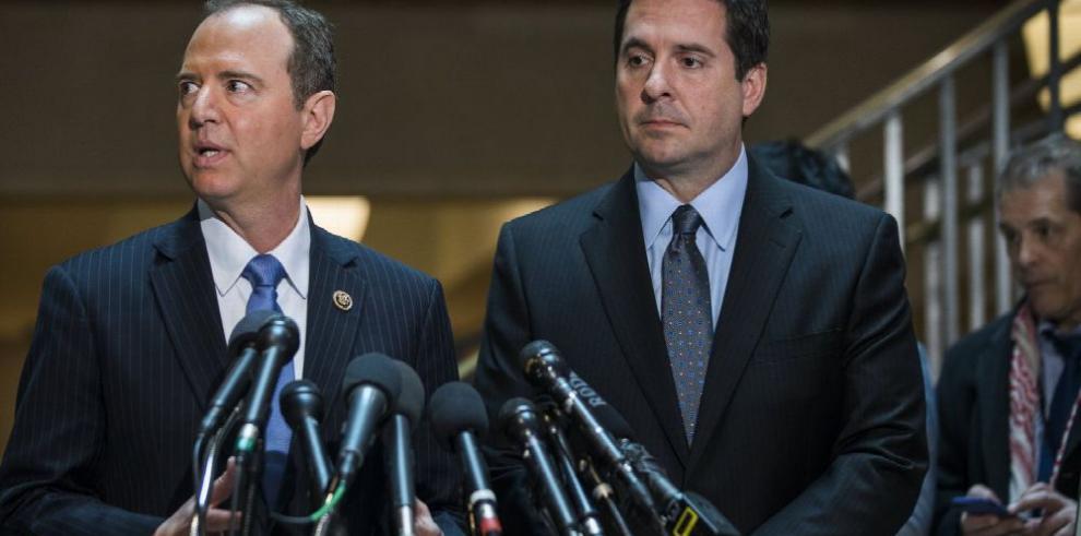 Congreso recibe dossier sobre 'espionaje' a Trump