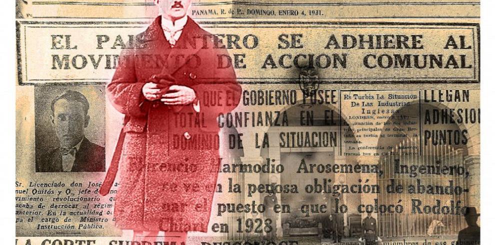 El golpe que ultimó el régimen de Florencio H. Arosemena