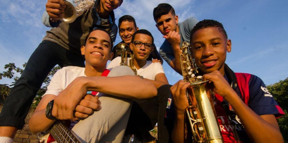 'Los nietos del jazz': el futuro de la música panameña