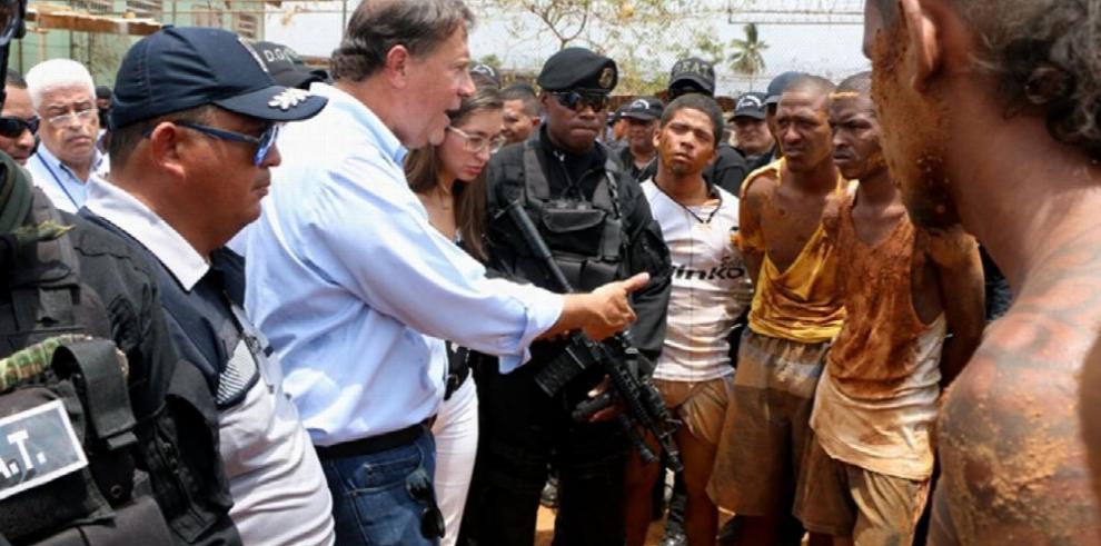 Reos vinculados a video fueron trasladados a la cárcel La Nueva Joya